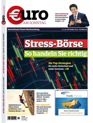 Euro am Sonntag Finanzmagazin September No 38 2018