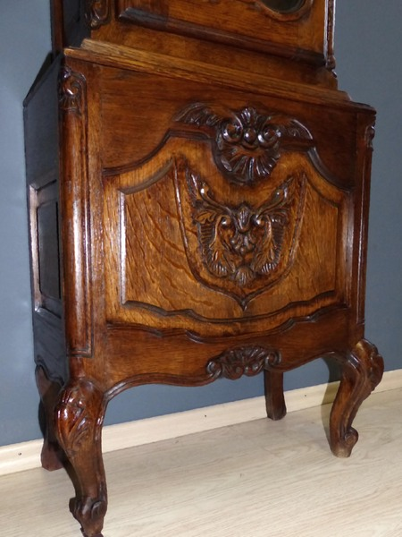 aachen l ttich barock standuhr antik longcase clock pendule uhrwerk pendeluhr ebay. Black Bedroom Furniture Sets. Home Design Ideas
