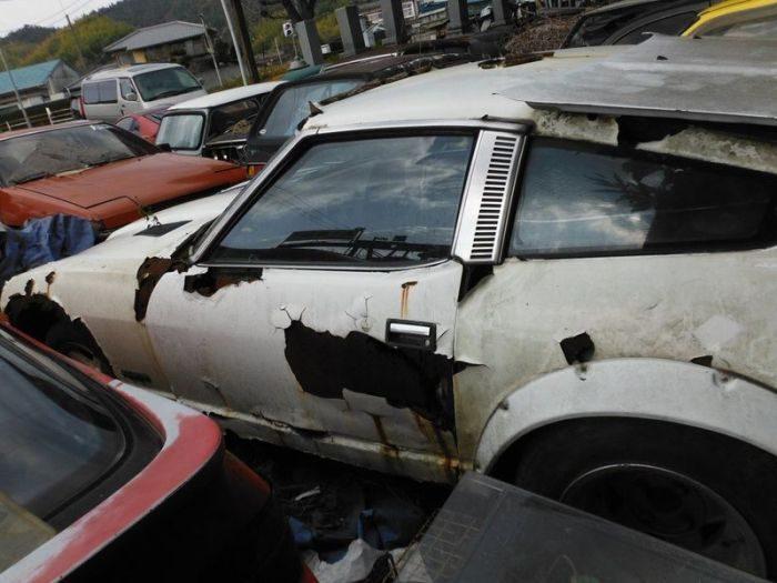 Zapomniany skład samochodów 1