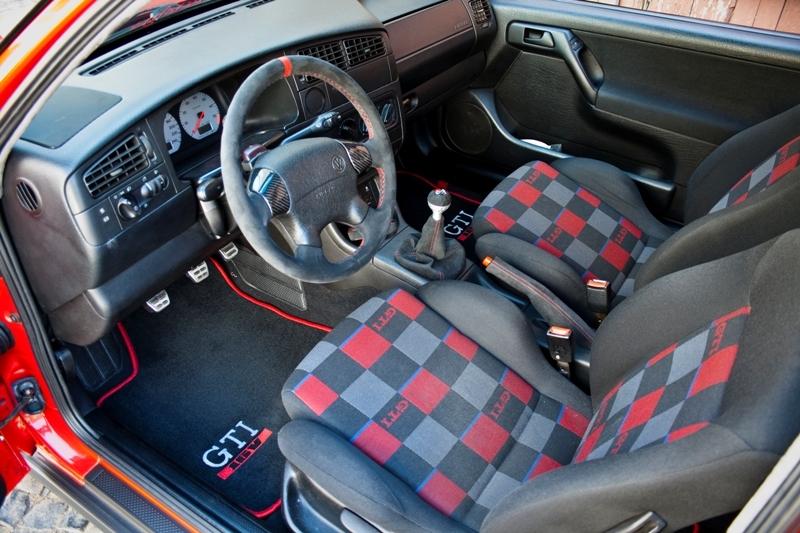 Golf 3 gti interior