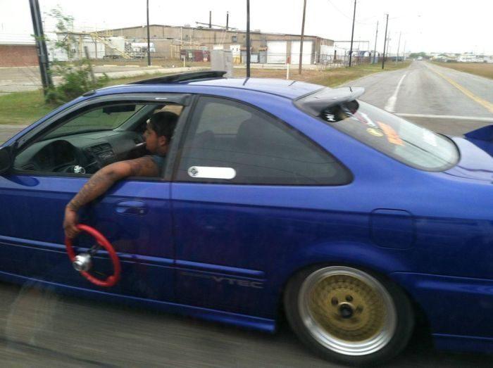 Jazda bez kierownicy 3