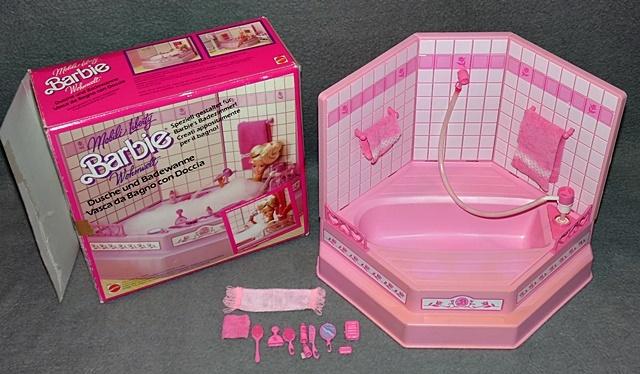 Barbie Badewanne Dusche Mit OVP Wohnwelt Living Pretty .