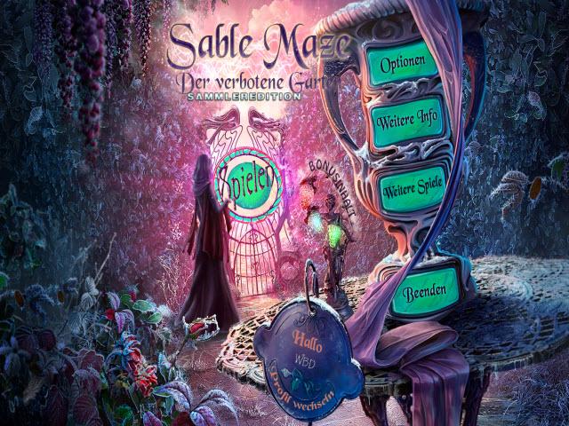 Sable Maze 3 - Der verbotene Garten Sammleredition [DE]