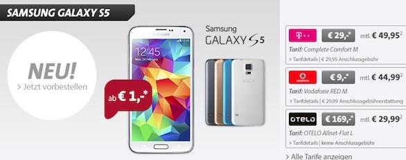 Sparhandy Samsung Galaxy S5