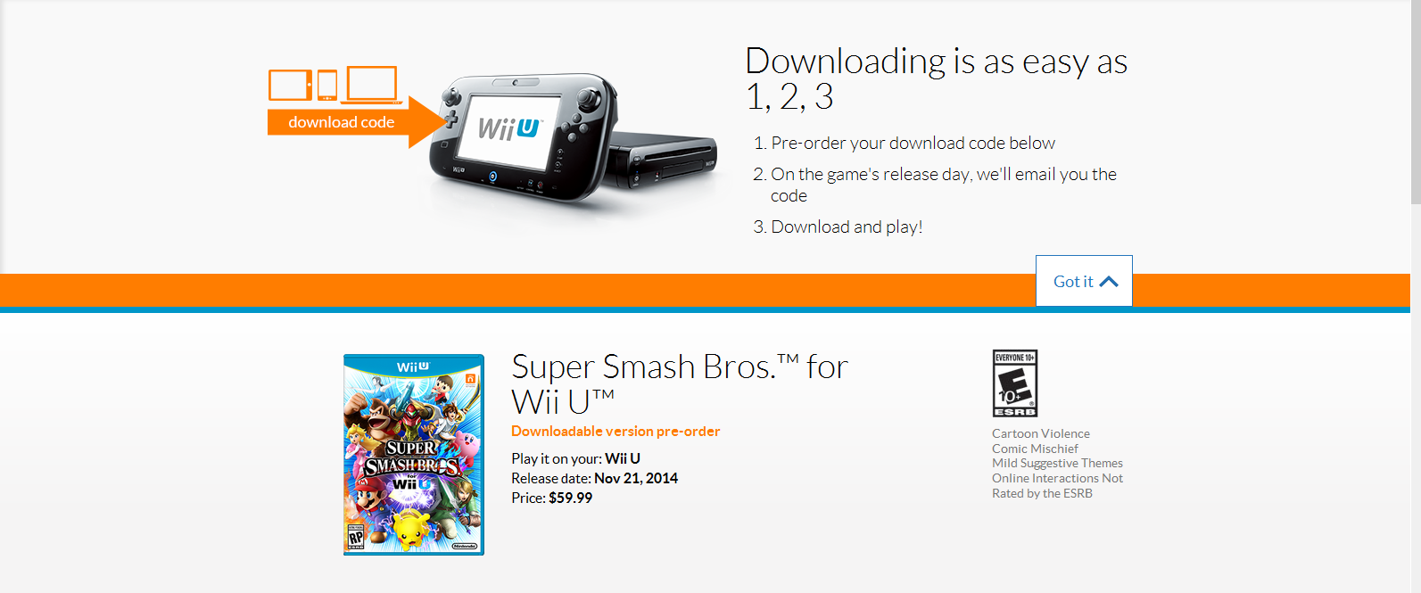 How to redeem your download code for nintendo wii u - Here S Some Screencaps