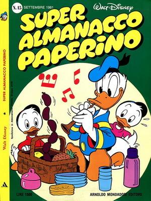 Super Almanacco Paperino n. 15 - Serie 2 (1981)