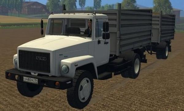 SAZ GAZ 35071 and Trailer SAZ 83173 v3.0