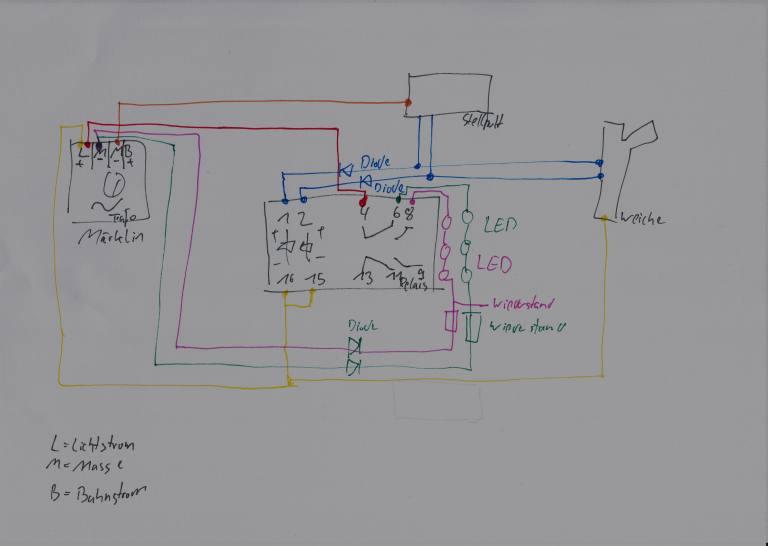 Standard Verkabelung mit Led Gleisbild - Seite 2 - Stummis ...