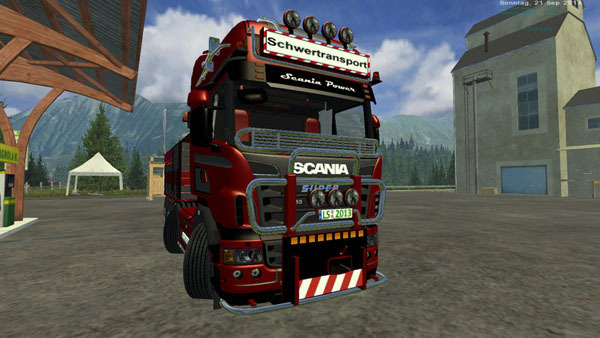Scania heavy duty and heavy duty v 1.0