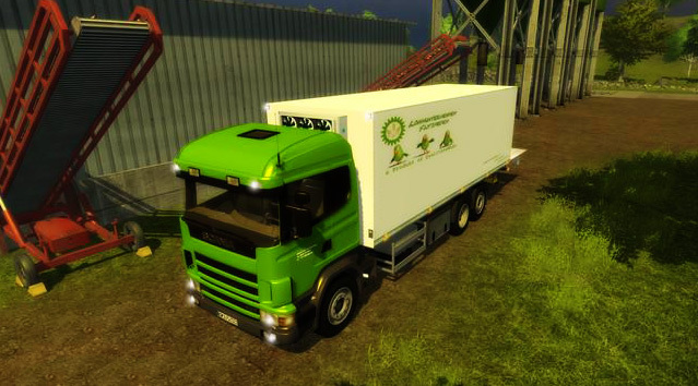 Scania P420 with cooling structure v 1.0