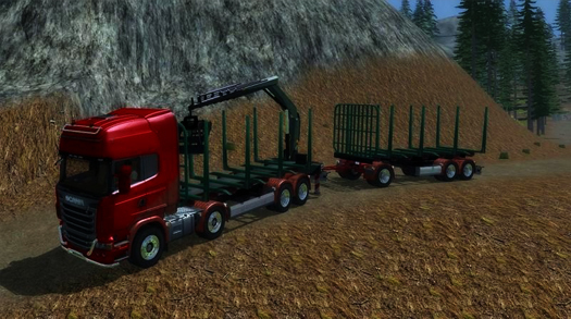 SCANIA R 730 MANIPULATOR V1.0