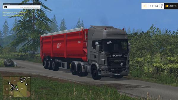 Scania R 730 Silver v3.0