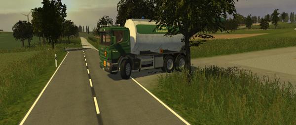 Scania diesel tank truck v 1.0