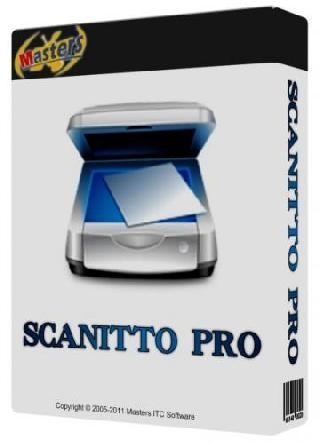 Scanitto  Pro 3.17 Multilanguage inkl.German