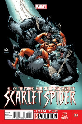 Scarlet Spider #13 cover
