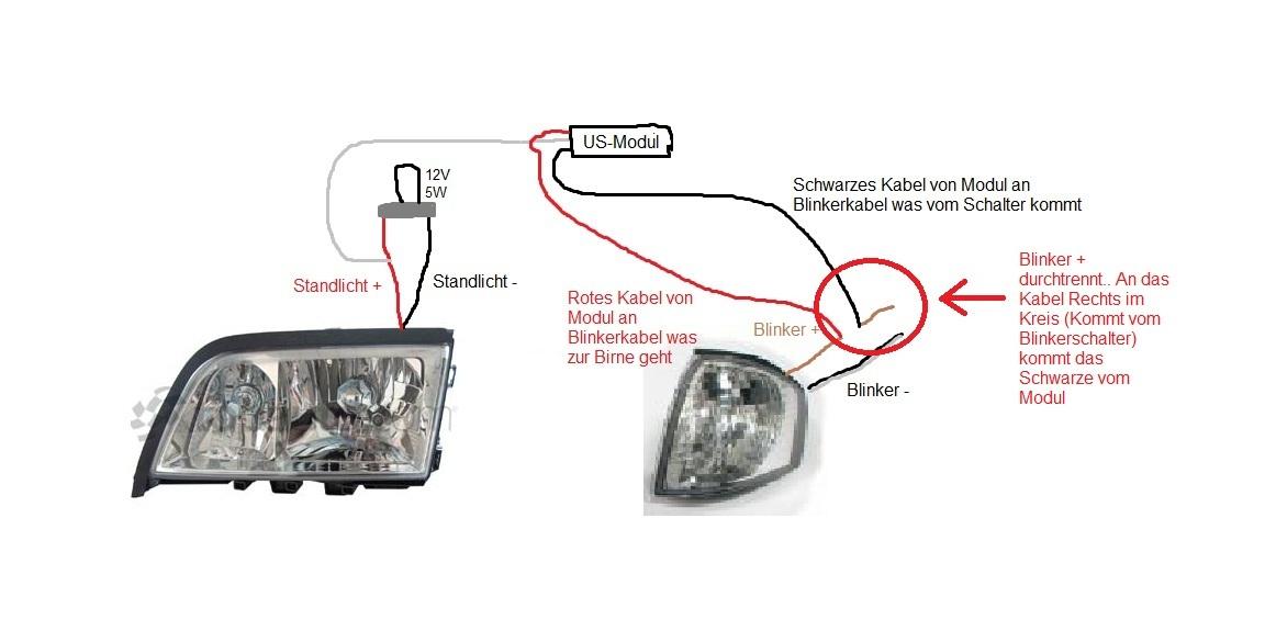 hilfe bei anschluss von us standlicht elektrik. Black Bedroom Furniture Sets. Home Design Ideas