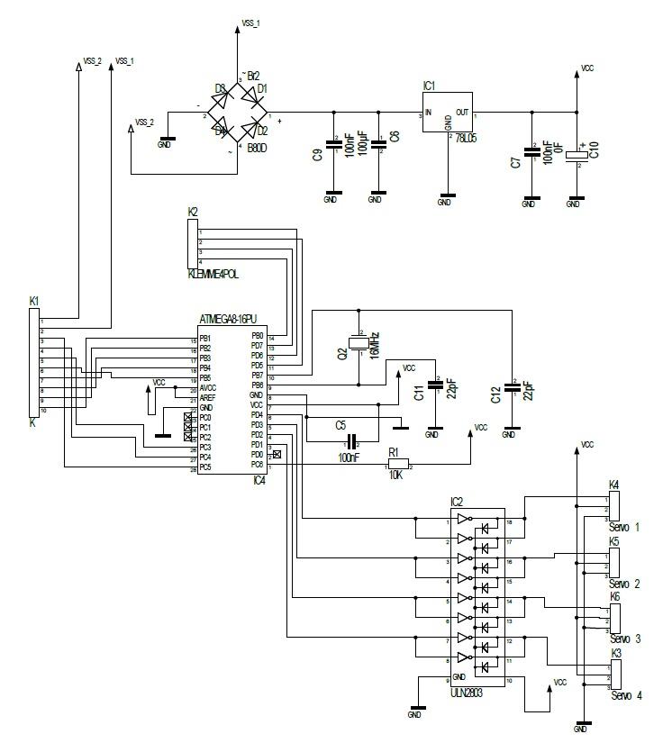 Servo-Elektronik für Analogbahner - Stummis Modellbahnforum