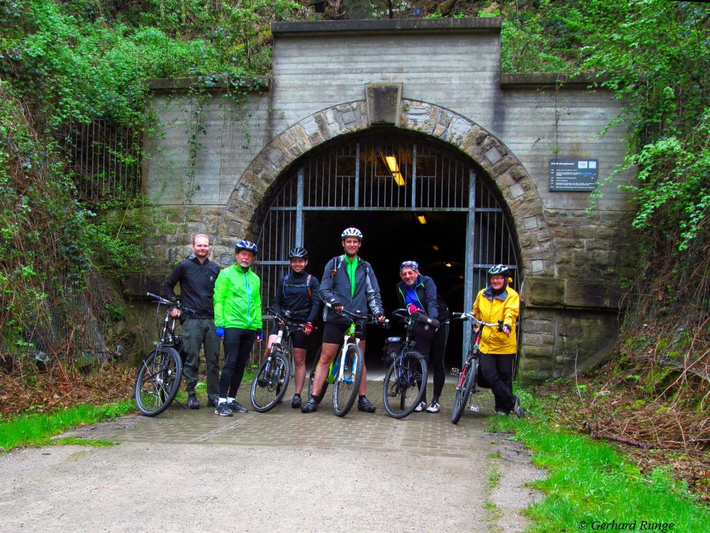 Vor dem Schulenbergtunnel