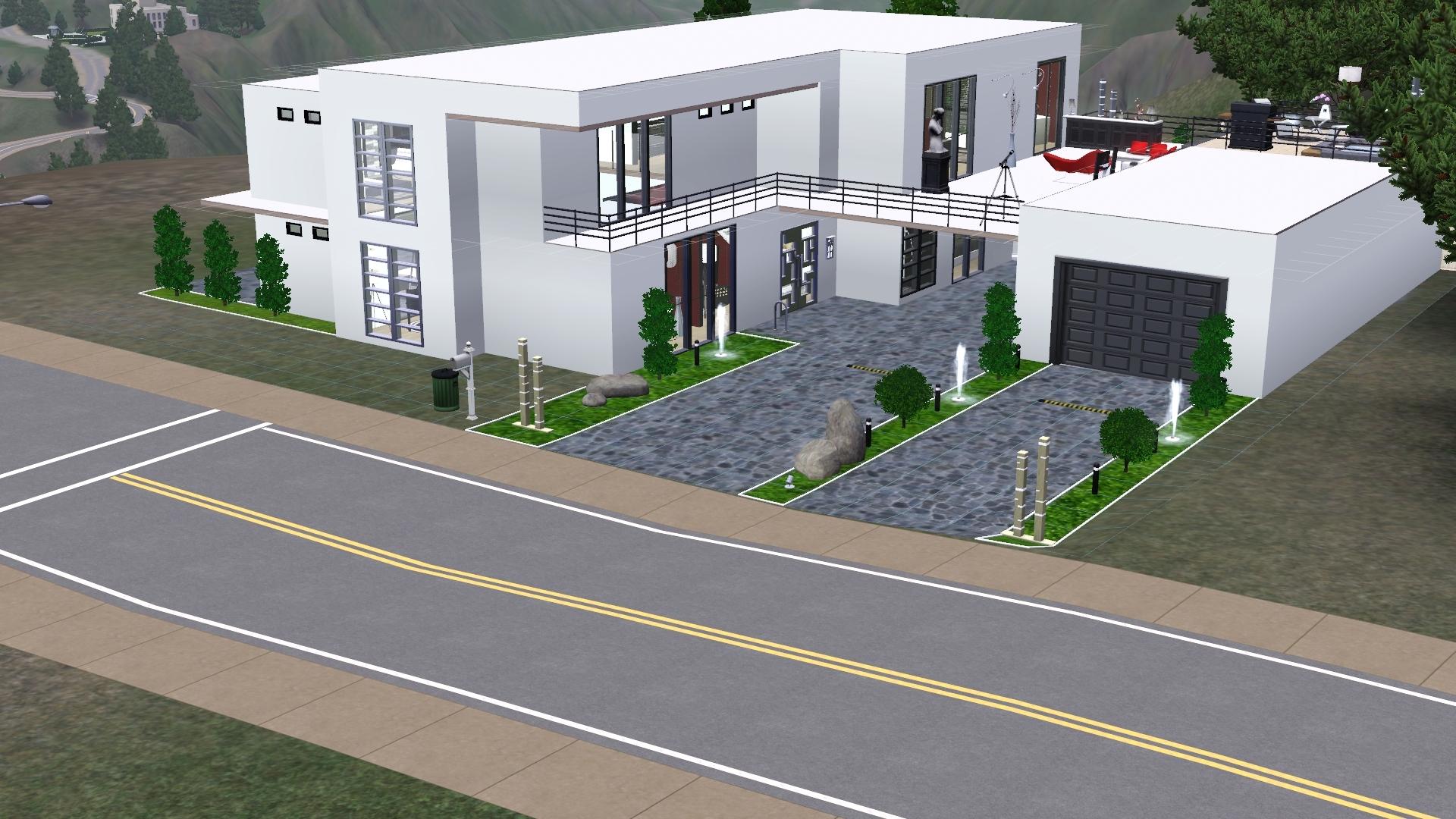 modern bauhausstil das gro e sims 3 forum von und f r fans. Black Bedroom Furniture Sets. Home Design Ideas