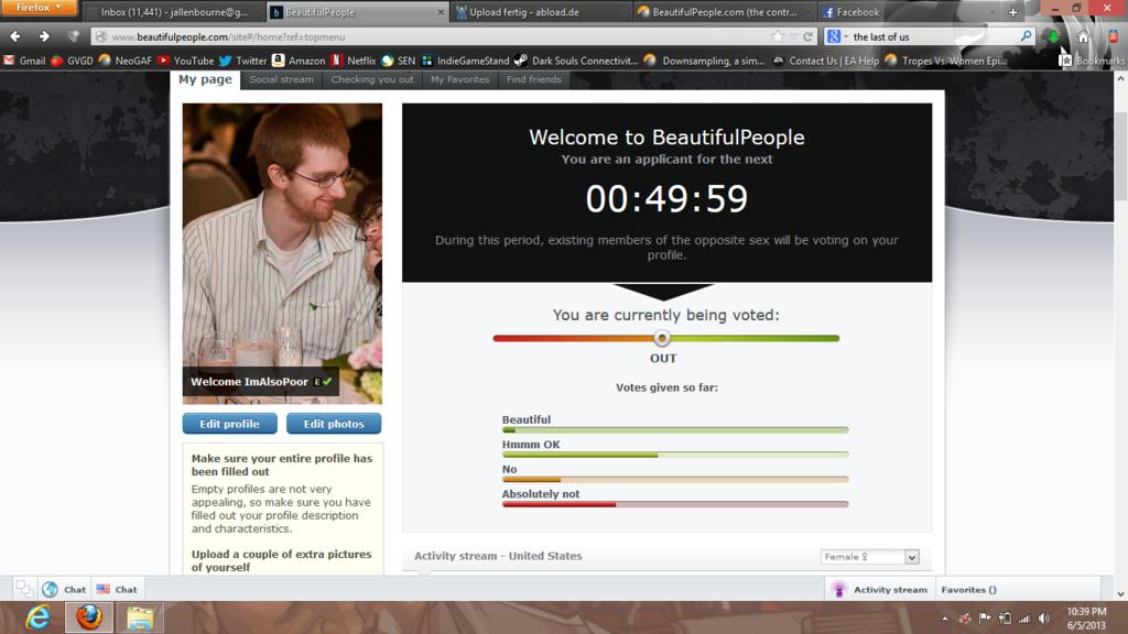 Beautifulpeople dating website