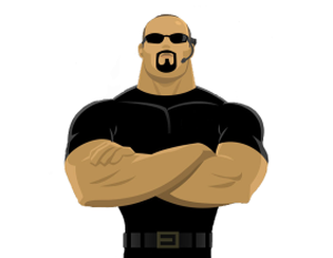 Image result for clipart security guard