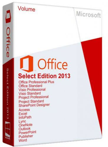 Microsoft Office Select Edition 2013 SP1 15.0.4701.1000