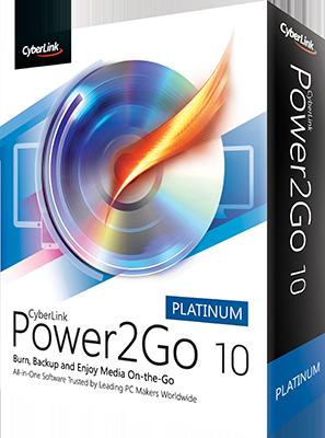CyberLink Power2Go Platinum v10.0.3016.00 Multi - ITA