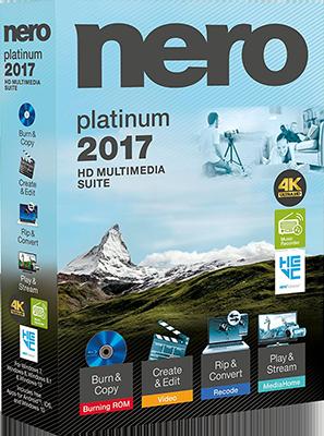 Nero 2017 Platinum v18.0.06100 Multi - ITA