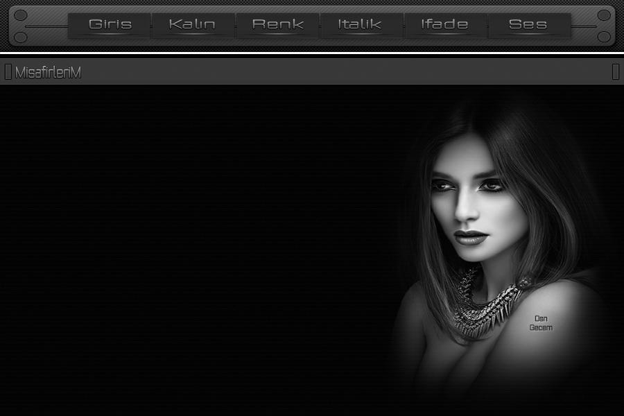 siyah beyaz duygusal bayan tema