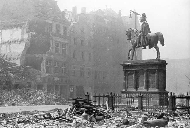 Wrocław  1945 Zniszczenia 59