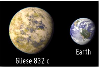 gliese 832c planet history - photo #2