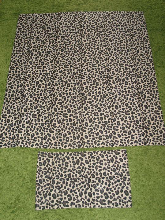 h m home 2 tlg leoparden baby bettw sche set animal leo beige bio 110x125 neu ebay. Black Bedroom Furniture Sets. Home Design Ideas