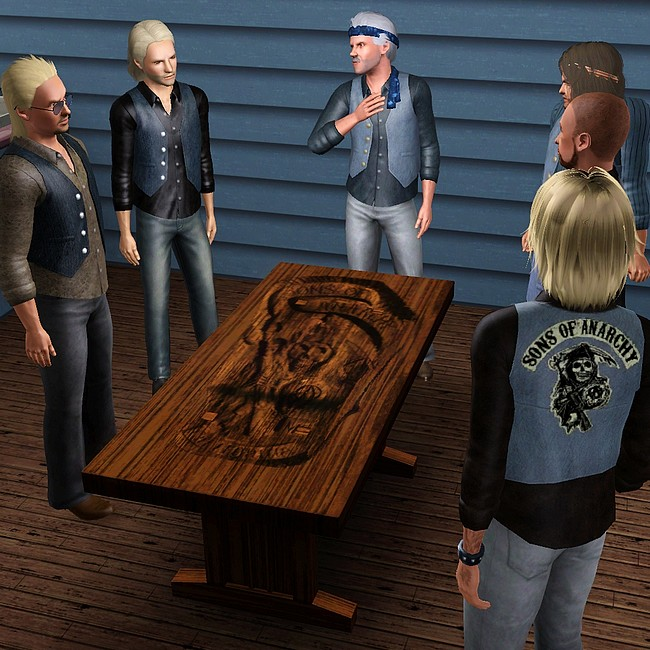 Sons Of Anarchy Poker Table Roulette Ktm