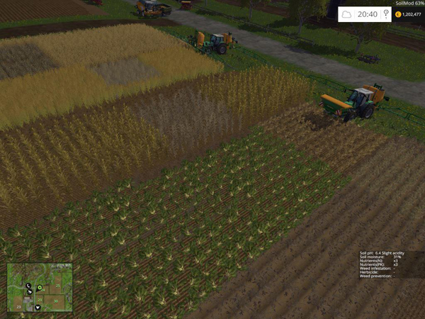 SoilMod - Soil Management & Growth Control v2.0.x
