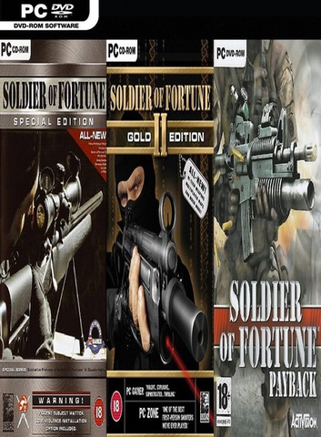 Soldier of Fortune Uncut Collection - x X RiDDICK X x