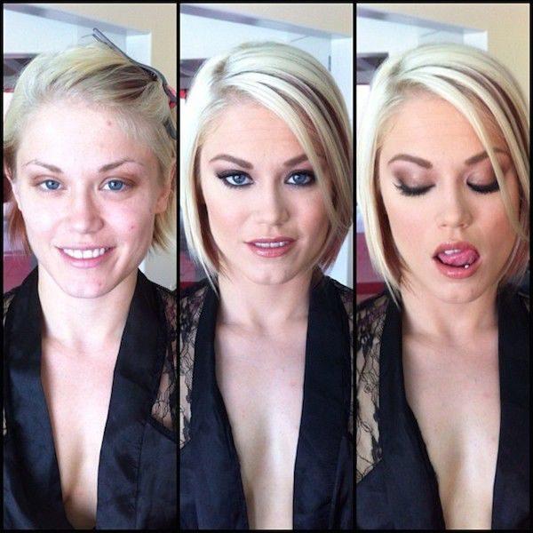 Aktorki XXX bez makijażu 17