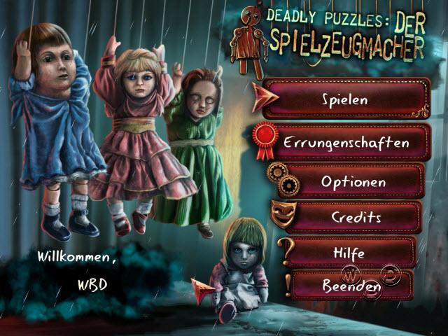 Deadly Puzzles - Der Spielzeugmacher [DE]