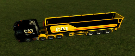SRB 35 Semi Trailer CAT Edition