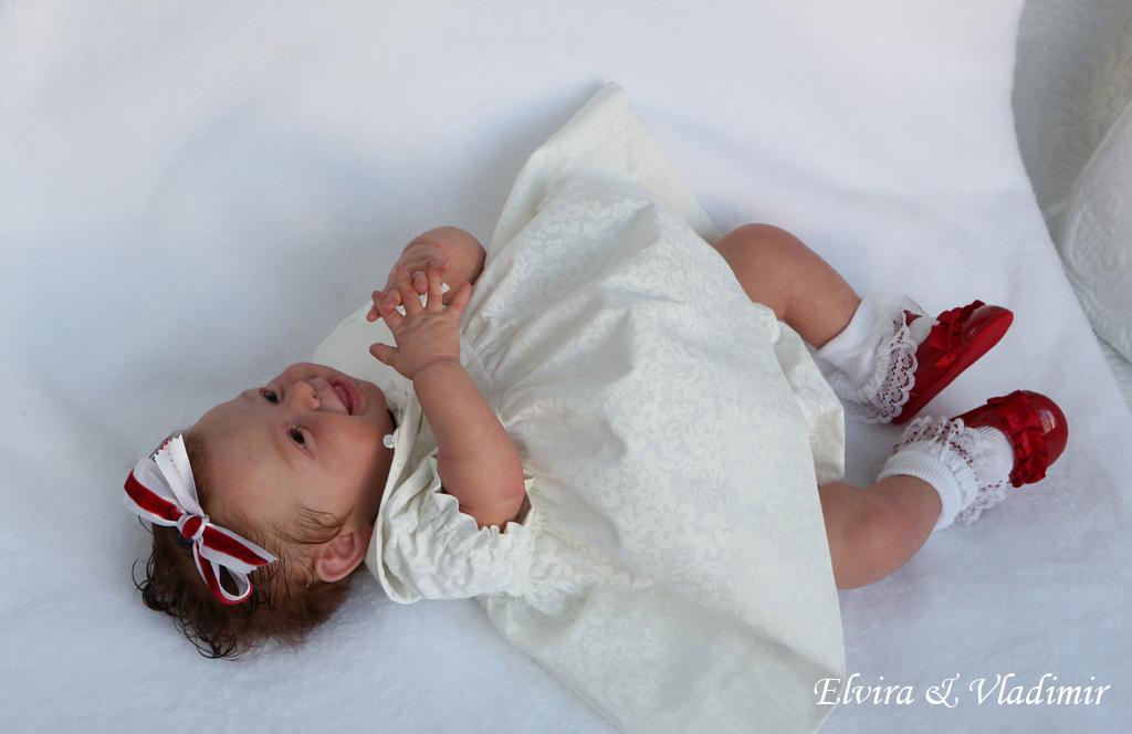 Elvira&Vladimir Nursery~ Reborn Baby GIRL~ Andrea Arcello ...