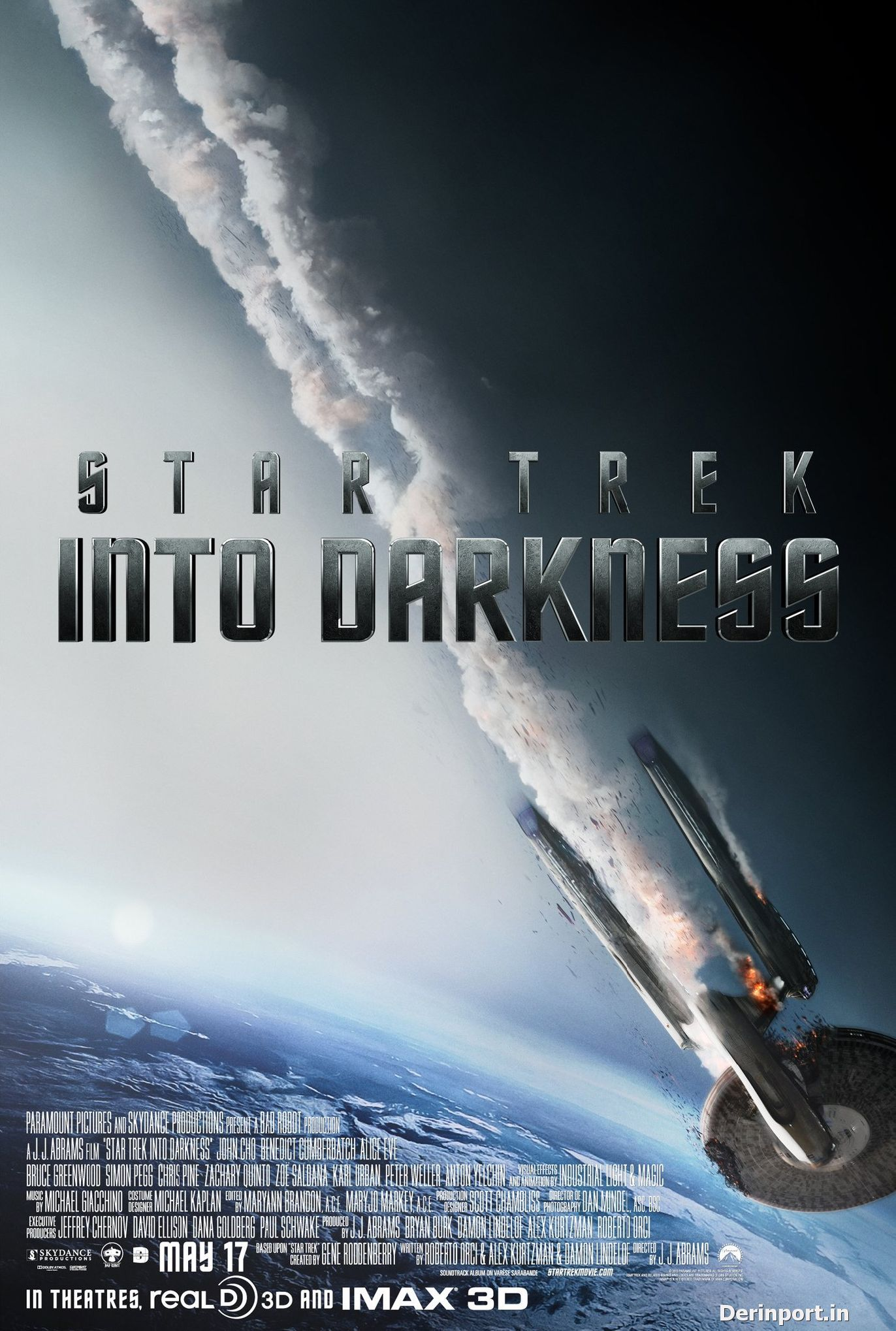 Star Trek: Bilinmeze Doğru – Star Trek Into Darkness (2013) TS XVID AC3 HQ Hive-CM8
