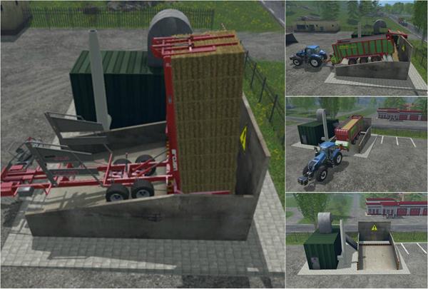 Straw power plant v1
