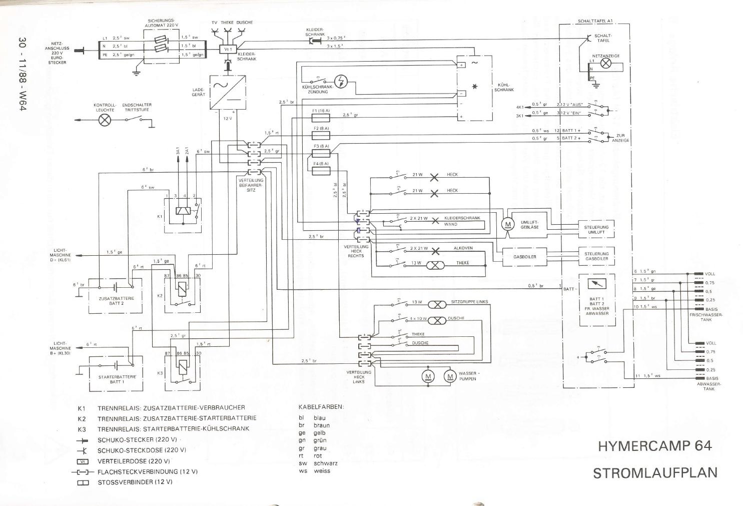 Elektrik ] Trennrelais für Kühlschrank defekt und nicht mehr ...