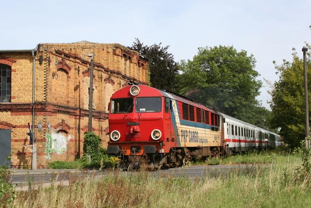 SU46 011 Einfahrt Forst (Lausitz)