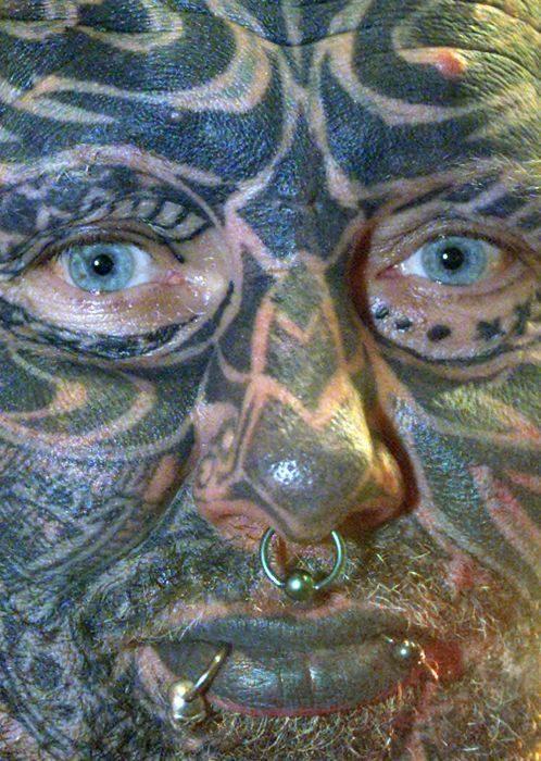 Hardcorowe tatuaże 19