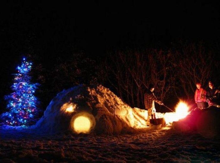 Śniegowe budowle 4