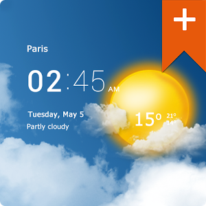 [Android] Transparent clock & weather (Trasparente orologio e meteo) Pro v0.90.02.10 .apk