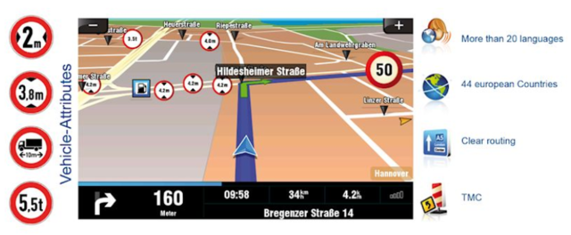 Sygic Fleet v10 & Softwareupdate Maps 03/2018