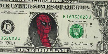 Banknoty 1$ 1