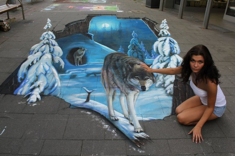 3D street art #4 5