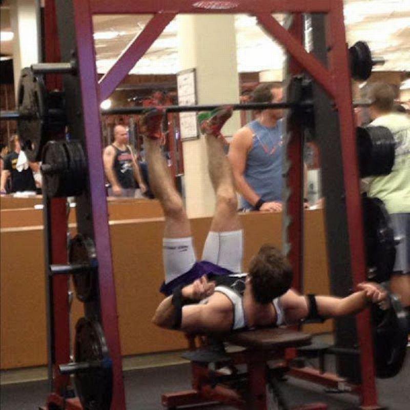 Na siłowni #2 20